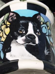 Treat CANISTER w/ ANY Breed painted on it! (large) CUSTOM