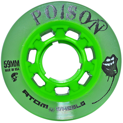 Atom Poison Hybrid Wheel - 4 Pack