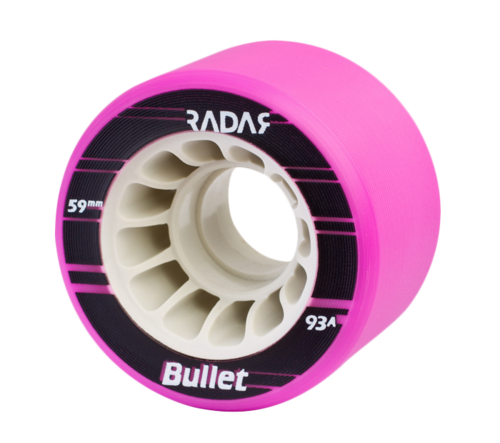 Radar Bullet Indoor Wheel - 4 Pack