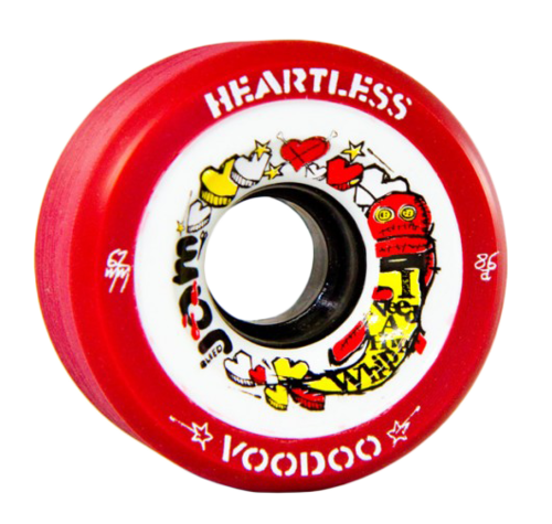 Heartless VooDoo Wheel 86A- 4 Pack