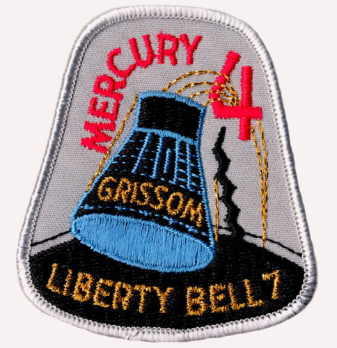 Mercury-Redstone 4 Souvenir Mission Patch