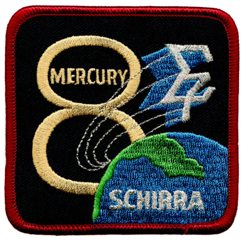 Mercury-Atlas 8 Souvenir Mission Patch