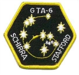 Gemini 6 Mission Patch