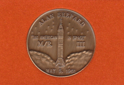 Mercury-Redstone 3 Commemorative Coin