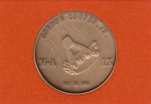Mercury-Atlas 9 Commemorative Coin