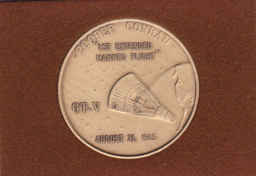 Gemini 5 Commemorative Coin