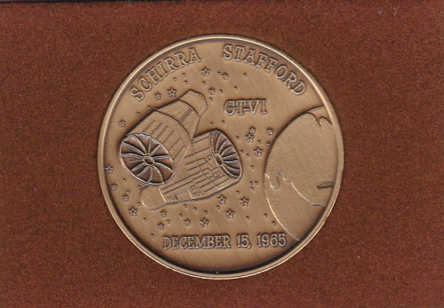 Gemini 6 Commemorative Coin