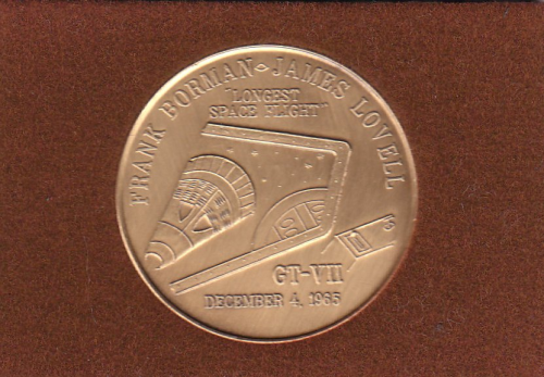 Gemini 7 Commemorative Coin