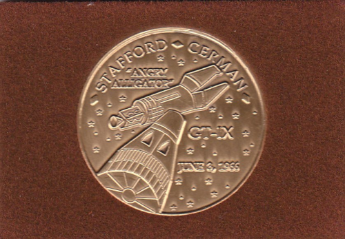 Gemini 9 Commemorative Coin