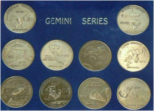 Gemini Commemorative Coin Set