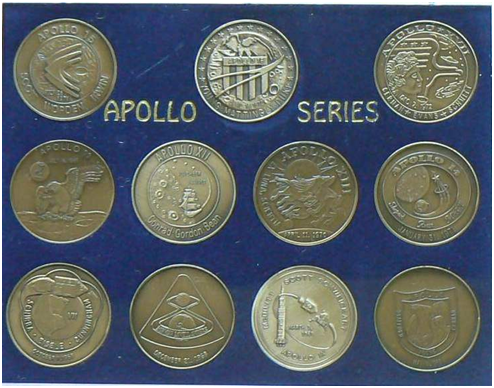 Apollo Commemorative Coin Set