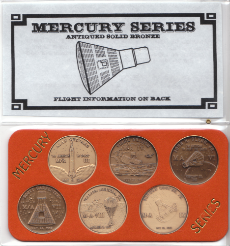 Mercury Commemorative Coin Set