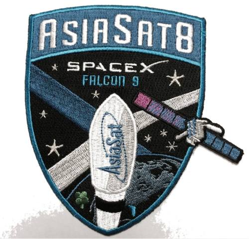AsiaSat8 SpaceX Patch