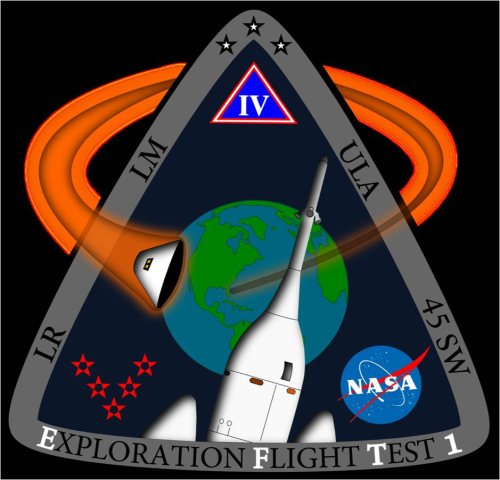 ORION EFT-1 Mission Patch