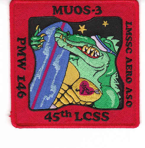 MOUS-3 Payload Mission Patch