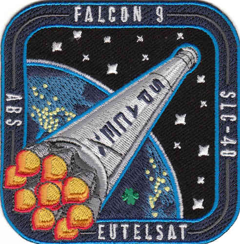 EUTELSAT SpaceX Mission Patch