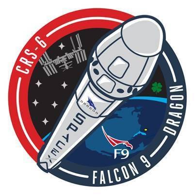 CRS-6 SpaceX Mission Patch