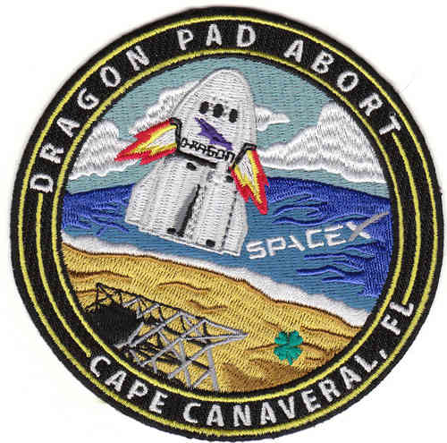 SpaceX Dragon Pad Abort Patch