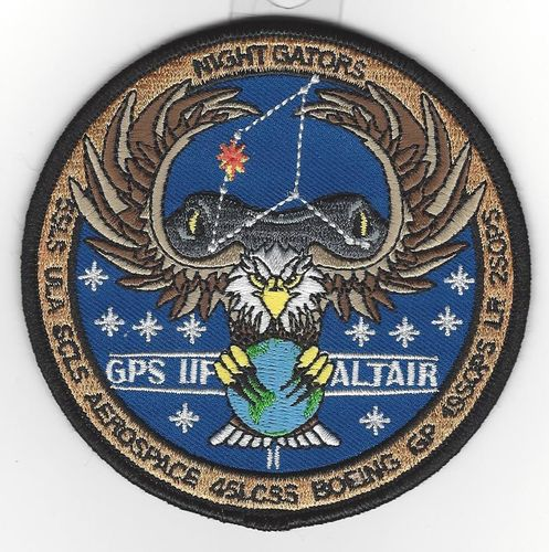 GPS11F-11 Payload Patch 45th LCSS
