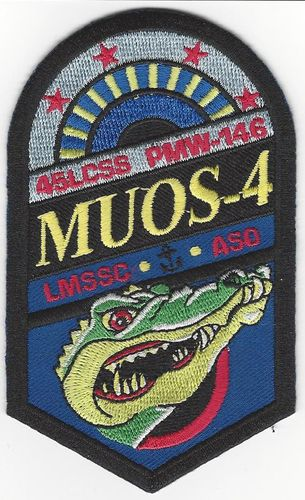 MOUS-4 Payload Mission Patch - 45th LCSS