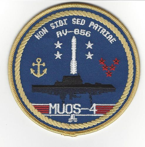 MUOS-4 Patch 5th SLS