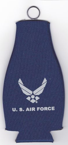 Air Force Logo Bottle Coolie