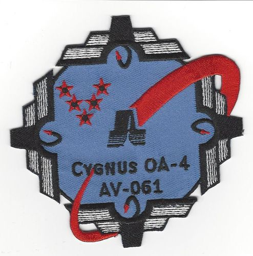 CYGNUS AO-4 Mission Patch 5th SLS