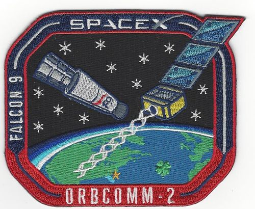 SpaceX ORBCOMM OG-2 Mission Patch.