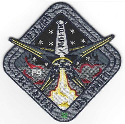 SpaceX Landing Patch