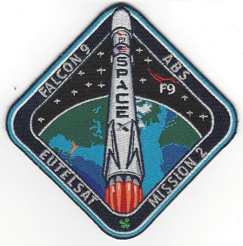 EUTELSAT-2 SpaceX Mission Patch