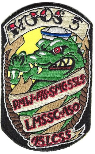 MUOS-5 LCSS Mission Patch