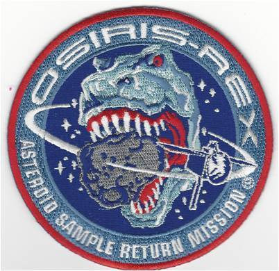 OsirisRex Mission Patch