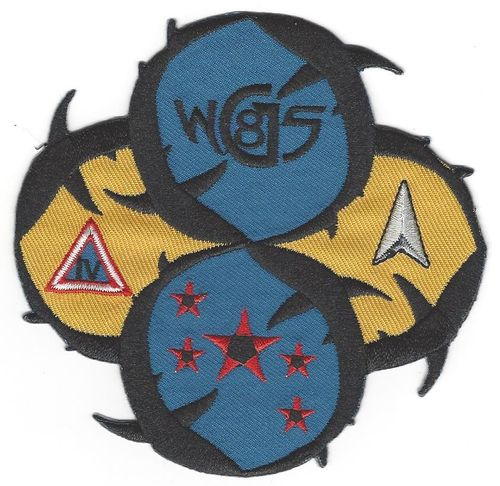 WGS-8 Mission Patch - Launch vehicle   5th SLS