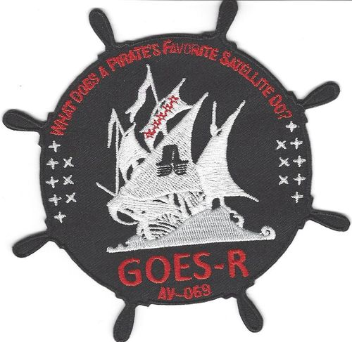 GOES-R Mission Patch - Launch Vehicle 5th SLS