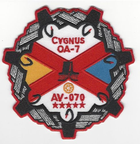 CYGNUS OA-7 Mission Patch