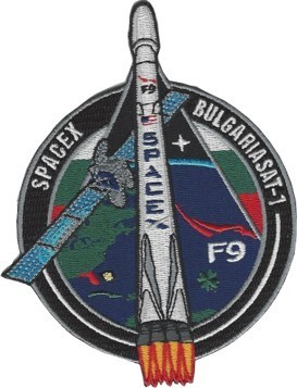 BulgariaSat-1 SpaceX Mission Patch