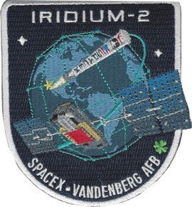 SpaceX IRIDIUM-2 NEXT Mission Patch