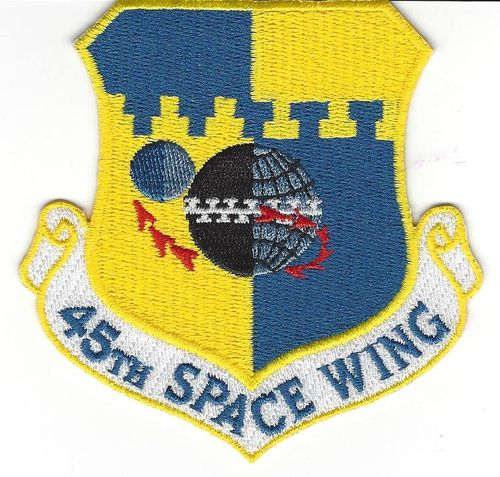 45th Space Wing patch