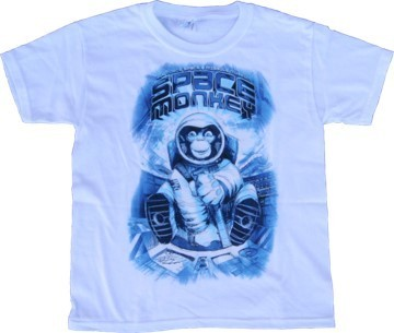 Space Monkey T-Shirt - Youth Sizes-3 colors