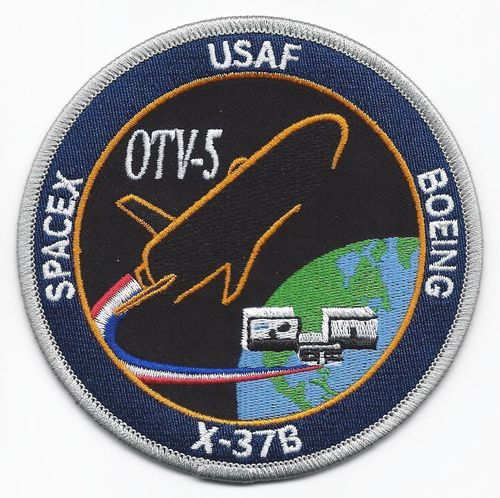 OVT5 Mission Patch - 45th LCSS