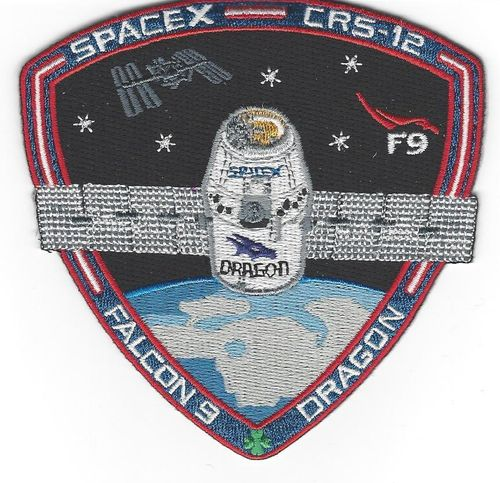 CRS-12 SpaceX  Mission Patch