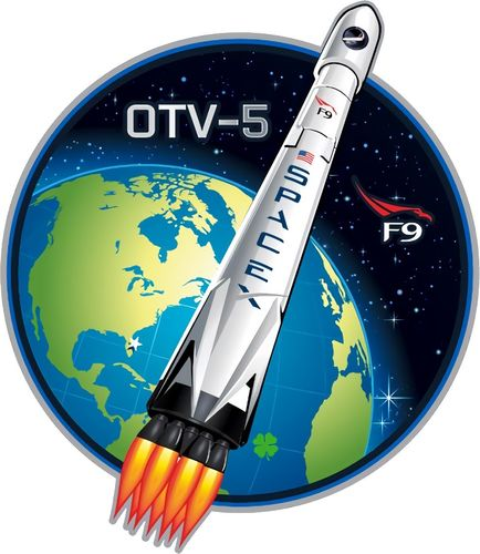 SpaceX OTV-5 Mission Patch