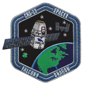 SpaceX CRS-13 Mission Patch