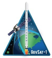 SpaceX GovSat-1 Mission Patch