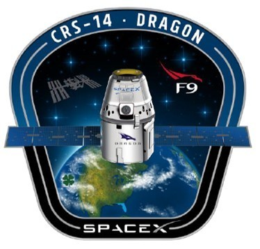 SpaceX CRS-14 Mission Patch