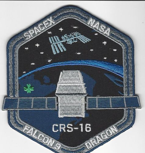 SpaceX CRS-16 Mission Patch