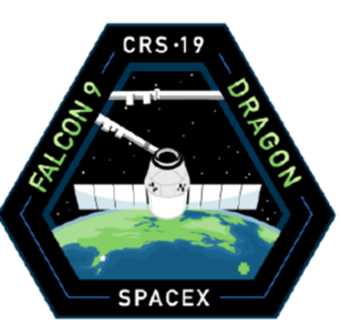 Official SpaceX CRS-19 Mission Patch