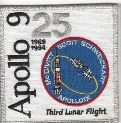 Apollo 9 25th Anniversary Patch