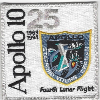 Apollo 10 25th Anniversary Patch