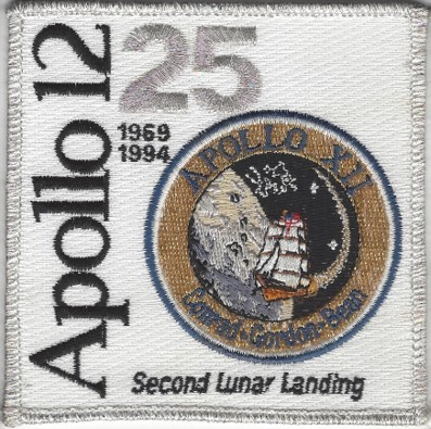 Apollo 12 25th Anniversary Patch